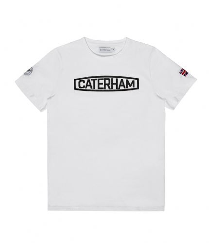 CATERHAM WHITE TEE SHIRT